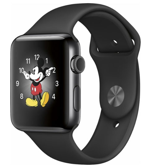 Apple watch series 2 42mm - Black Sports Strap Grade A