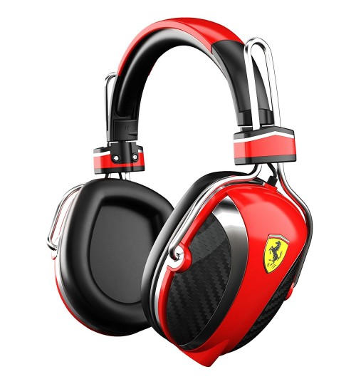 Ferrari Scuderia P200 Red Headphones